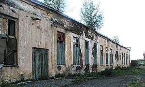 Руины хлебозавода.