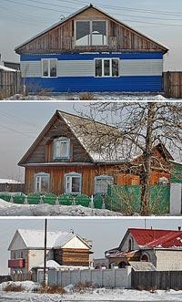 Землю под этими домами мэрия Кызыла выставила на торги. Совершенно случайно она досталась тем, кто ее незаконно захватил.