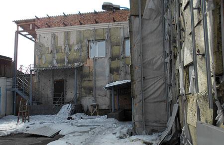 Здание административного суда по улице Комсомольской г.Кызыла, 23 марта 2016 года